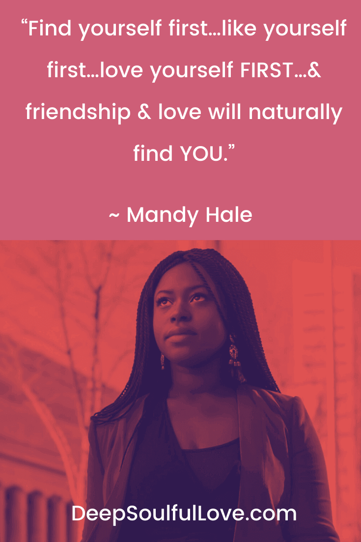 Find Yourself First Mandy Hale Quote