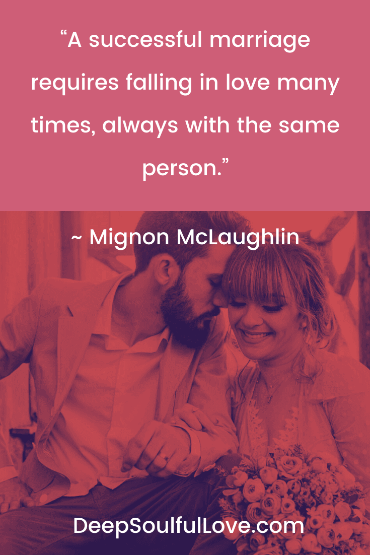 Mignon McLaughlin Successful Marriage Quote