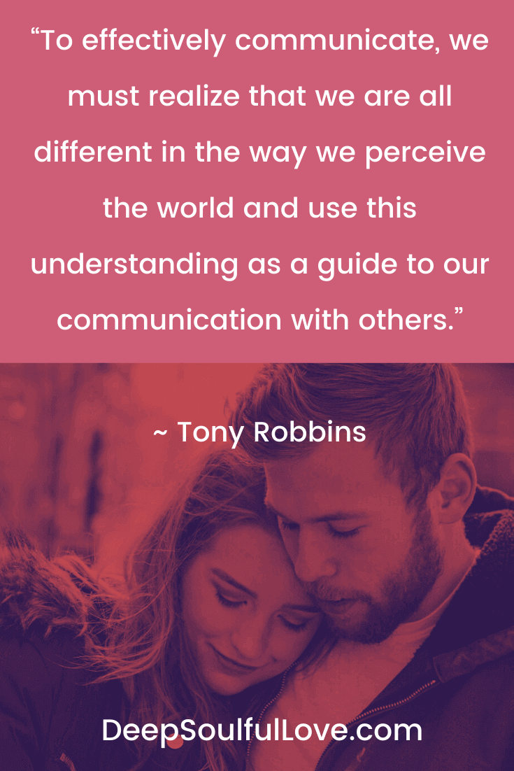 To Effectively Communicate Tony Robbins Quote