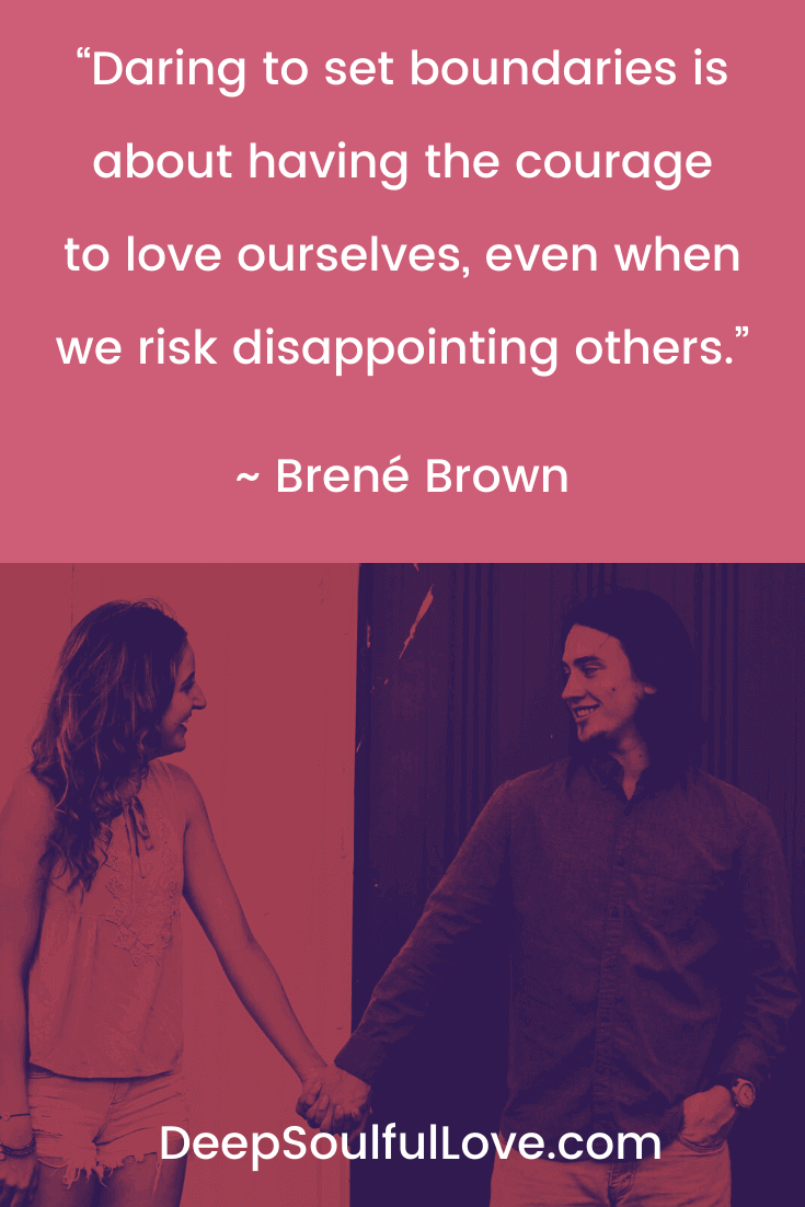 Brené Brown Daring To Set Boundaries Quote