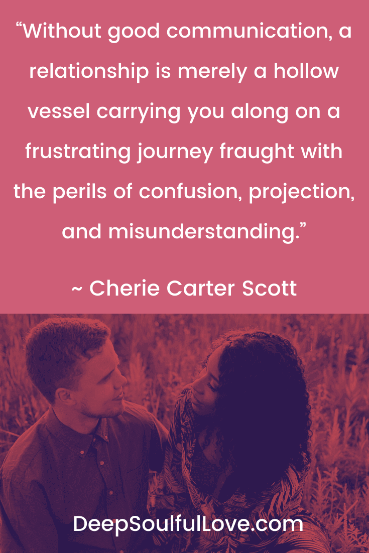 Cherie Carter Scott Good Communication QuoteScott Good Communication Quote