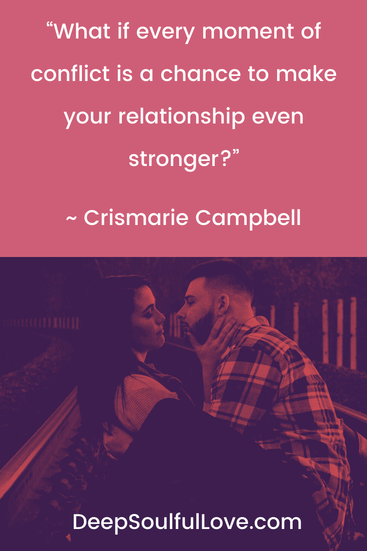 Crismarie Campbell Conflict Quote