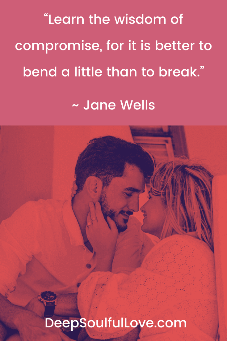 Jane Wells Learn the Wisdom of Compromise Quote