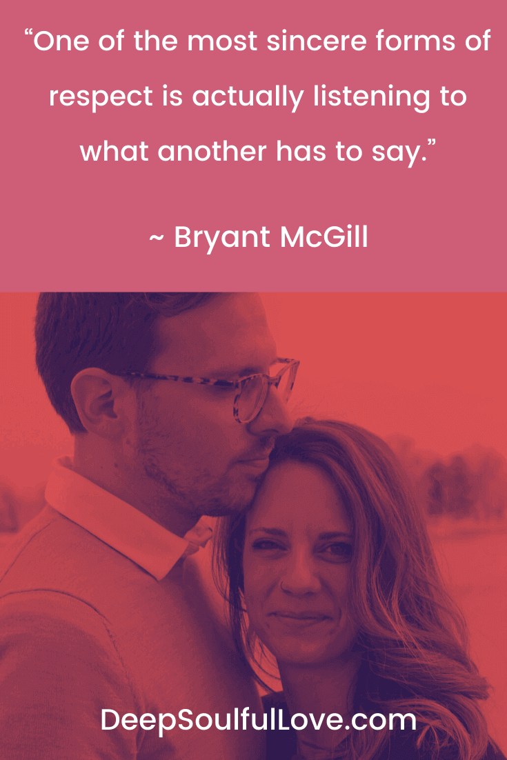 Bryant McGill Listening Quote