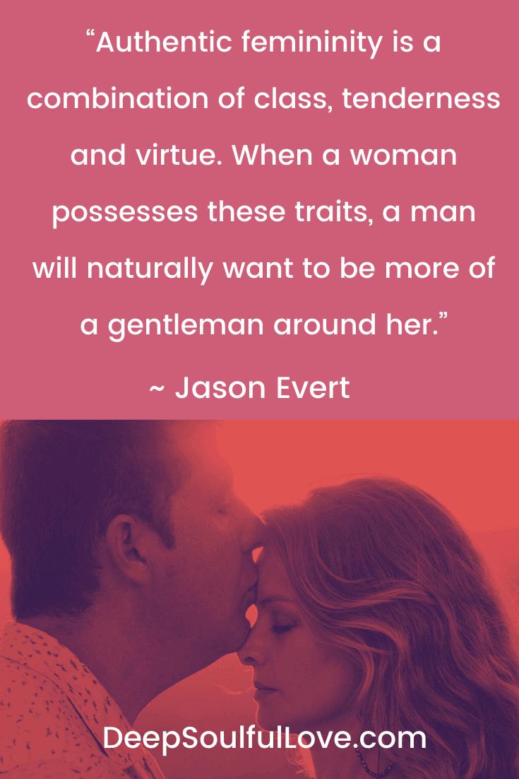 Jason Evert Authentic Femininity Quote