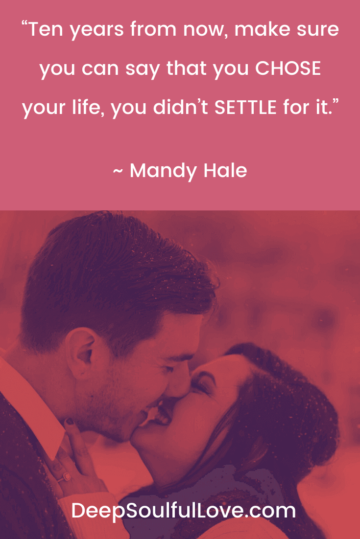 Mandy Hale Chose Your Life and Did Not Settle For it