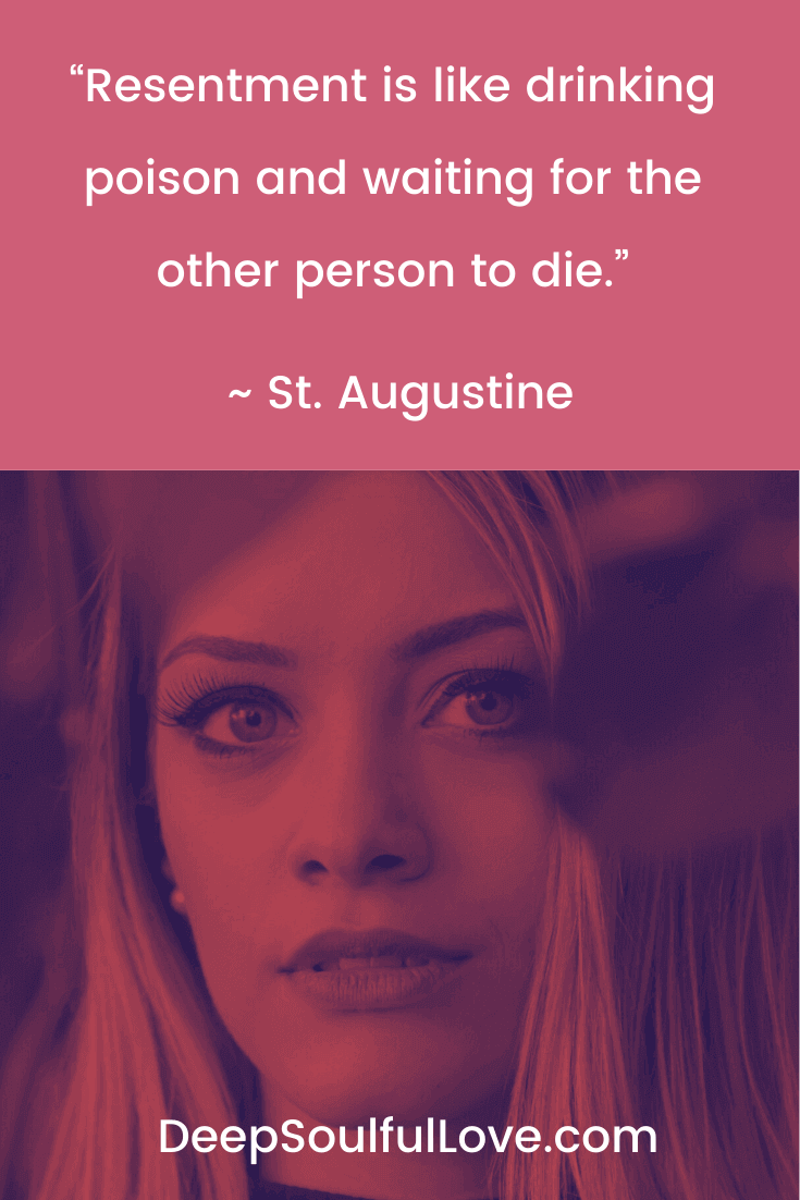 Resentment is Like Drinking Poison St. Augustine Quote