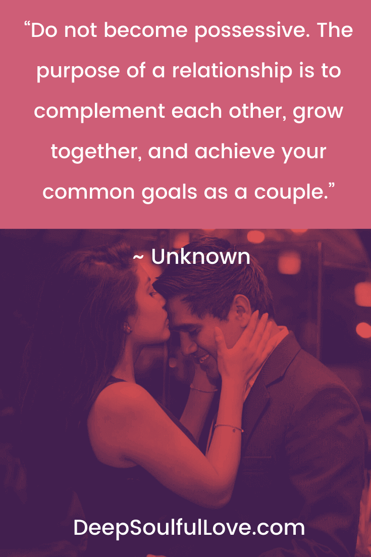 The Purpose of a Relationship is To Complement Each Other Quote
