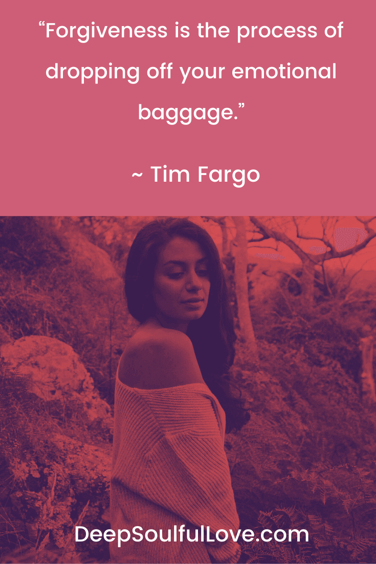 Tim Fargo Forgiveness Quote